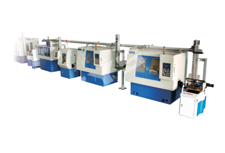 CNC automatic production line for ball bearing