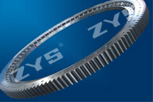 Single-row cross roller slewing bearings
